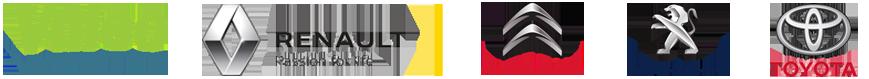 exemple de références : Renault PSA Valeo Toyota